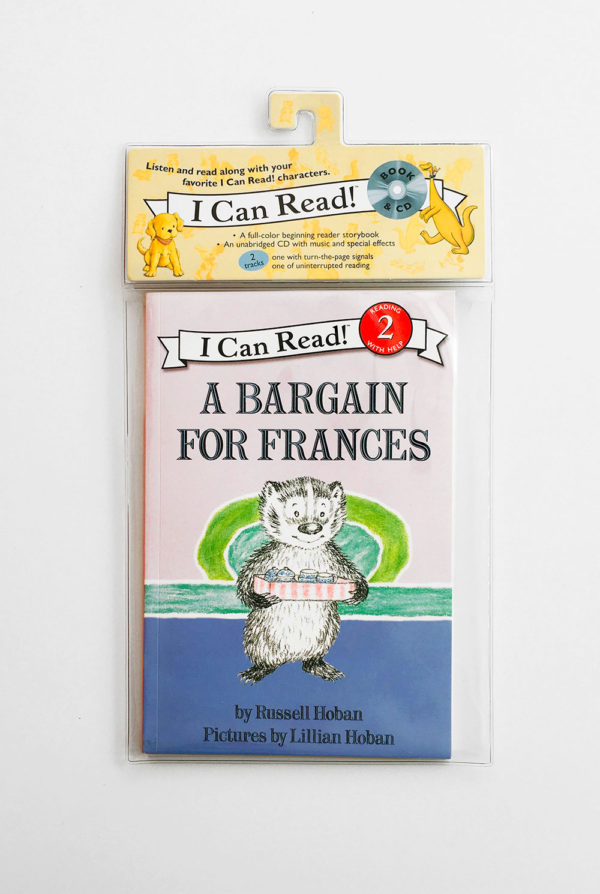 I CAN READ #2: A BARGAIN FOR FRANCES (+CD)