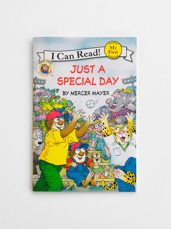 I CAN READ - MY FIRST READING: JUST A SPECIAL DAY