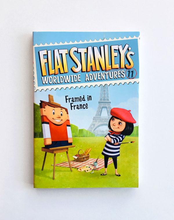 FLAT STANLEY'S WORLDWIDE ADVENTURES: FRAMED IN FRANCE
