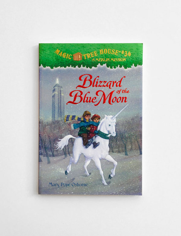 MAGIC TREE HOUSE - MERLIN MISSION: BLIZZARD OF THE BLUE MOON