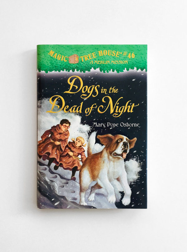 MAGIC TREE HOUSE - MERLIN MISSION: DOGS IN THE DEAD OF NIGHT