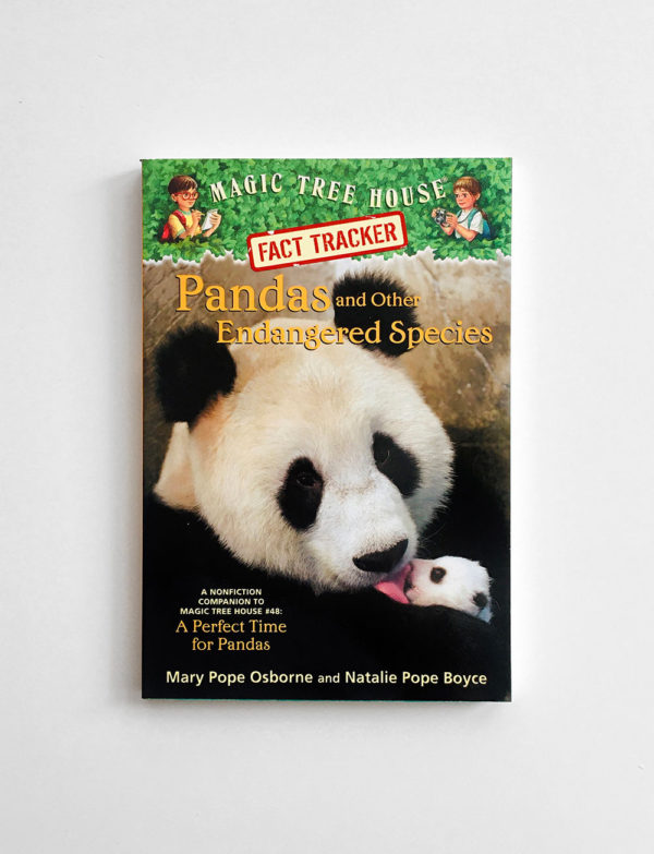 MAGIC TREE HOUSE - RESEARCH: PANDAS AND OTHER ENDANGERED SPECIES