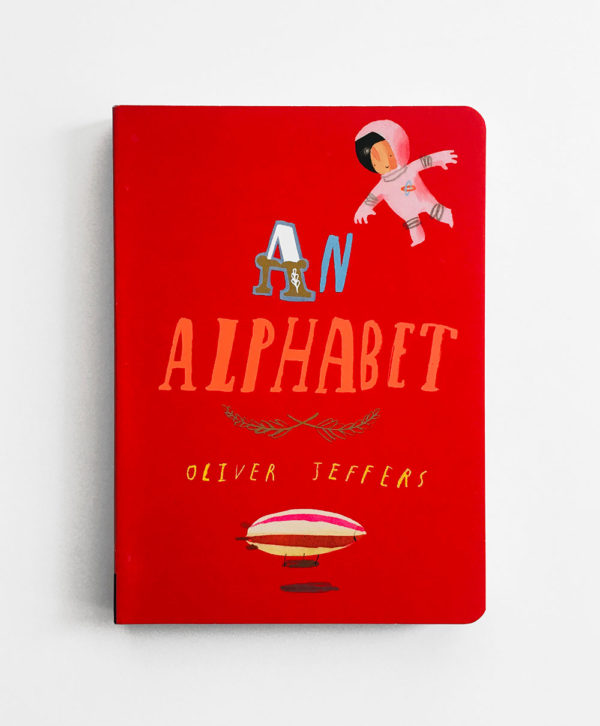 AN ALPHABET - OLIVER JEFFERS