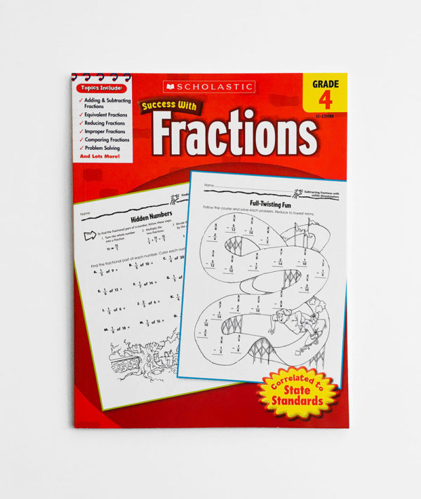 SUCCESS WITH FRACTIONS (GRADE 4)