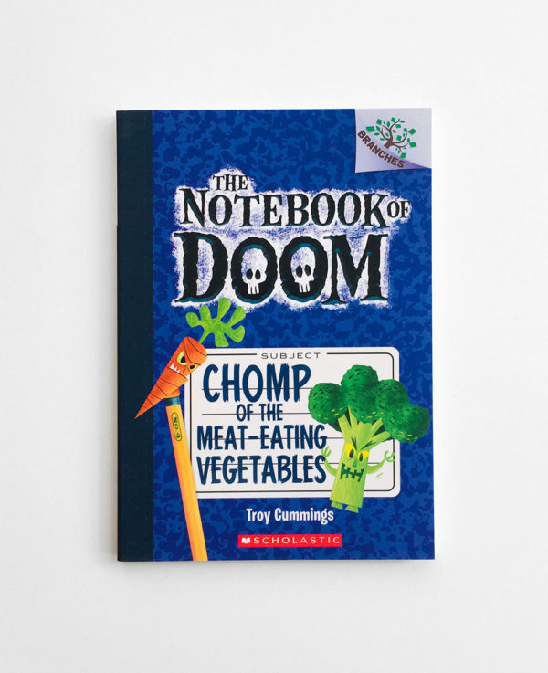 NOTEBOOK OF DOOM: CHOMP OF THE MEAT-EATING VEGETABLES