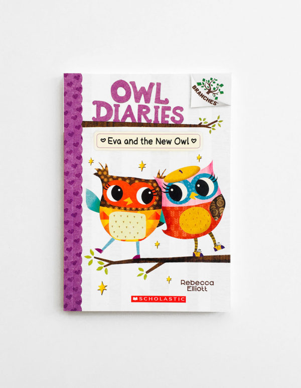 OWL DIARIES: EVA AND THE NEW OWL (#4)