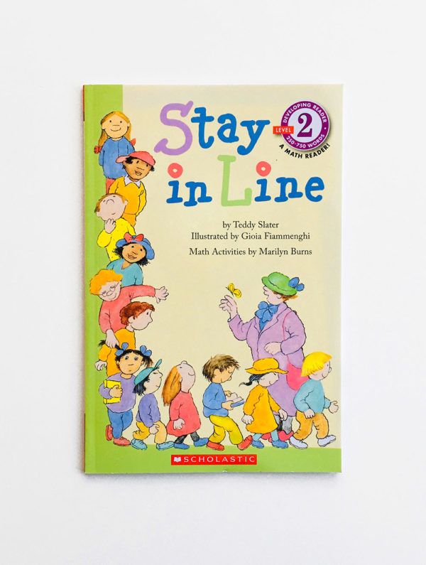 SCHOLASTIC MATH READERS #2: STAY IN LINE