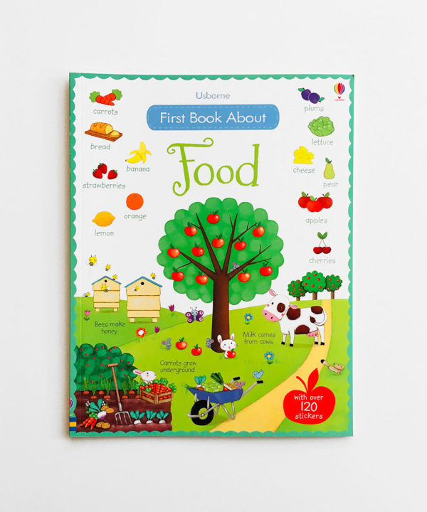 FIRST STICKER BOOK ABOUT FOOD