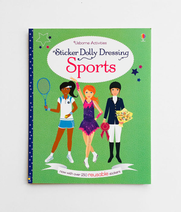 STICKER DOLLY DRESSING: SPORTS