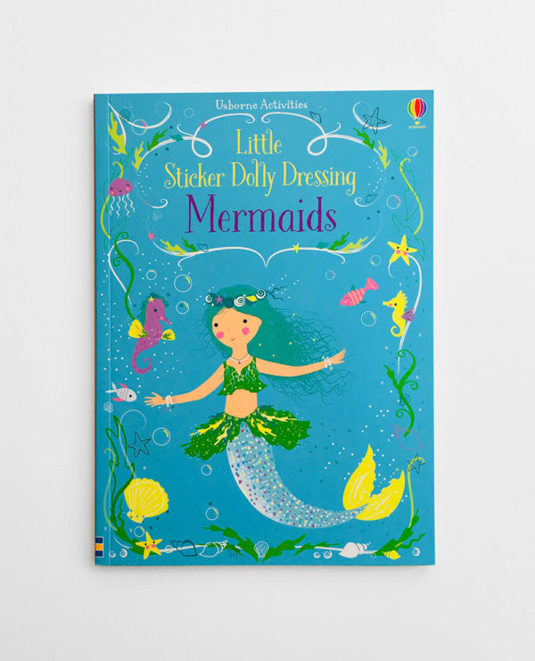 LITTLE STICKER DOLLY DRESSING: MERMAIDS