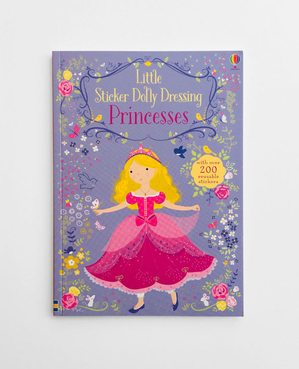 LITTLE STICKER DOLLY DRESSING: PRINCESSES