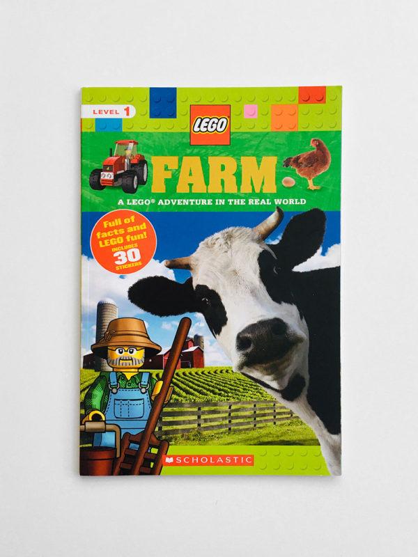 SCHOLASTIC READERS #1: LEGO FARM ADVENTURE