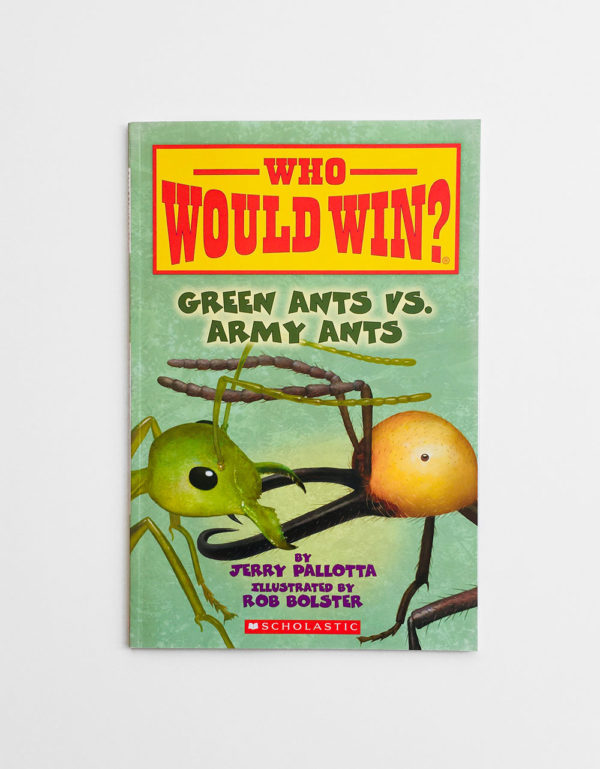 WHO WOULD WIN? GREEN ANTS VS ARMY ANTS