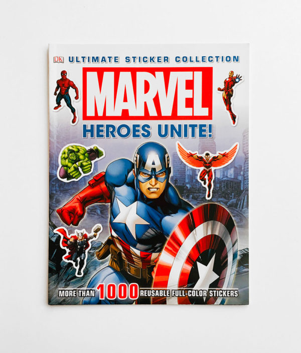 MARVEL HEROES UNITE: ULTIMATE STICKER COLLECTION