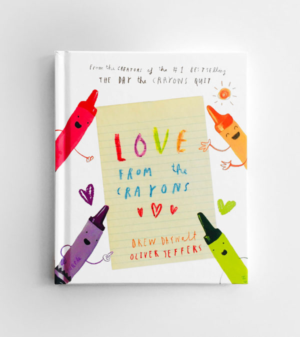 LOVE FROM THE CRAYONS - DREW DAYWALT & OLIVER JEFFERS