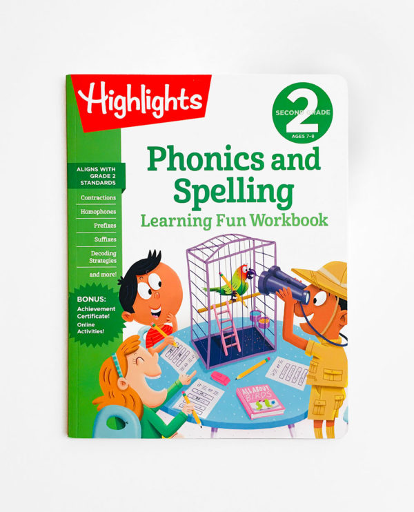 HIGHLIGHTS SECOND GRADE: PHONICS AND SPELLING