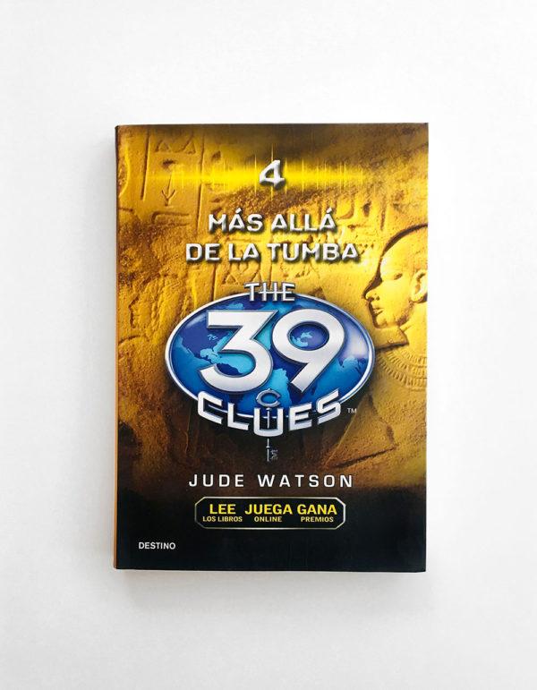 39 CLUES: MÁS ALLA DE LA TUMBA (#4)