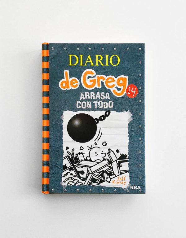 DIARIO DE GREG: ARRASA CON TODO (#14)
