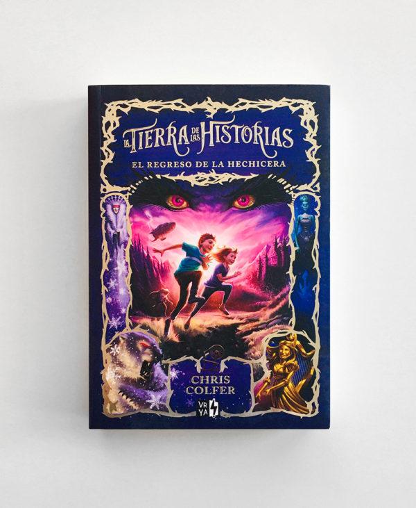 TIERRA DE HISTORIAS: EL REGRESO DE LA HECHICERA (#2)
