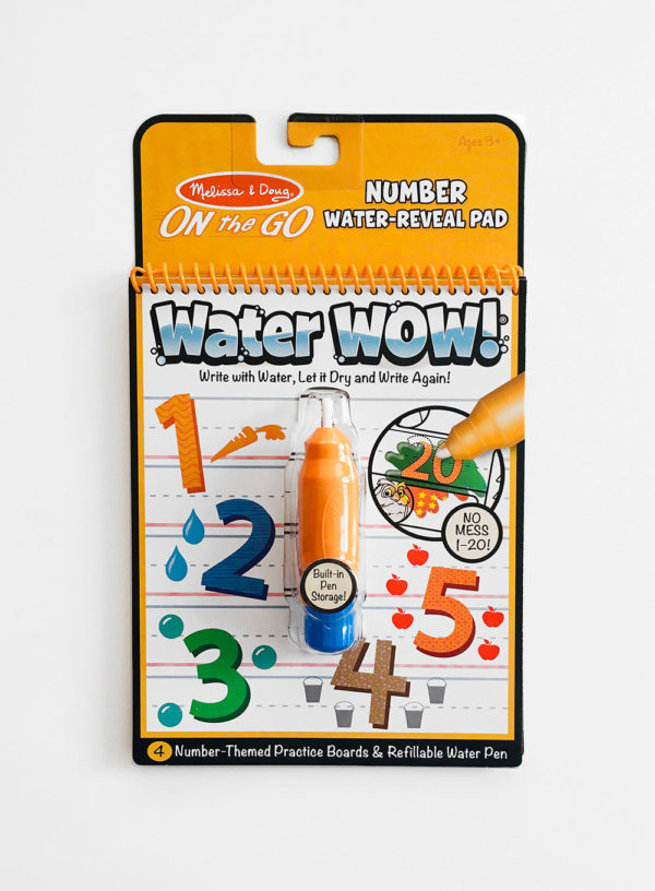 WATER WOW: NUMBERS