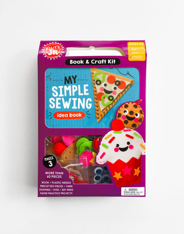 MY SIMPLE SEWING: BOOK & CRAFT KIT