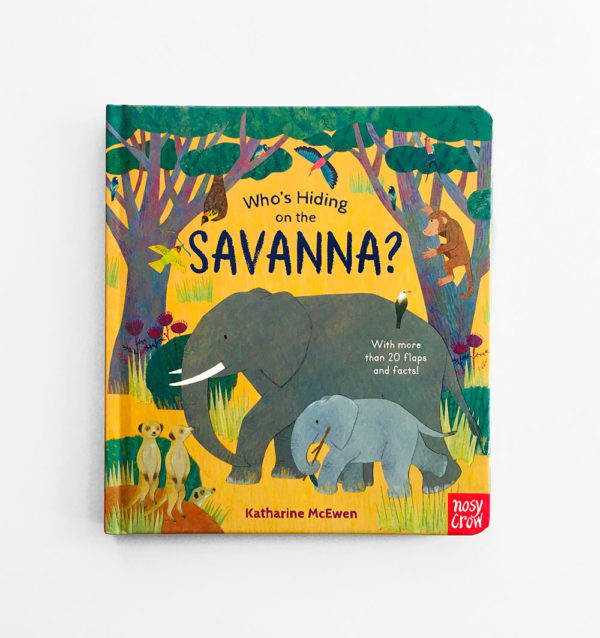 WHO'S HIDING IN THE SAVANNA?