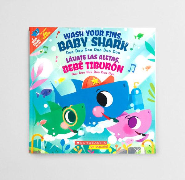 WASH YOUR FINS, BABY SHARK - LÁVATE LAS MANOS, BEBÉ TIBURÓN