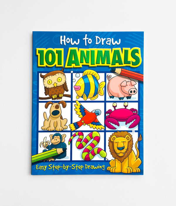 HOW TO DRAW: 101 ANIMALS