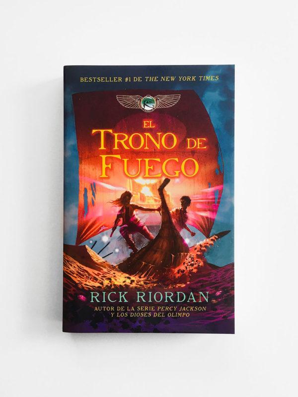 EL TRONO DE FUEGO (LAS CRÓNICAS DE KANE #2)