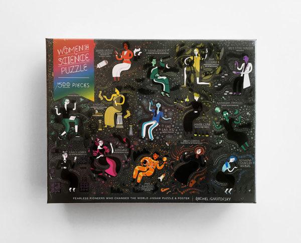 PUZZLE: WOMEN IN SCIENCE PUZZLE (500 PIEZAS)