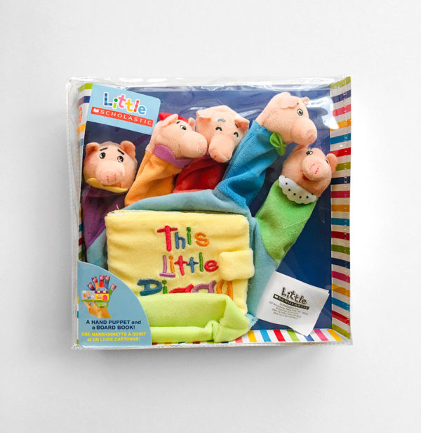 THIS LITTLE PIGGIE: A HAND PUPPET AND BOARD BOOK