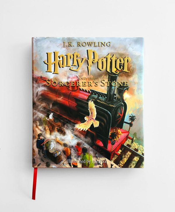 HARRY POTTER AND THE SORCERER'S STONE , ILLUSTRATED BY JIM KAY