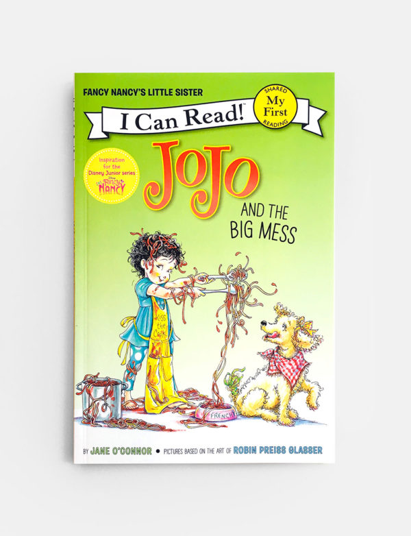 I CAN READ - MY FIRST: JOJO AND THE BIG MESS