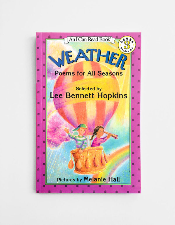 I CAN READ #3: WEATHER, POEMS FOR ALL SEASONS