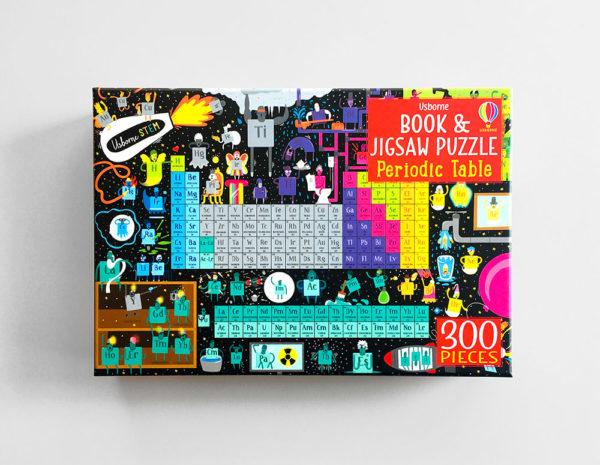 PERIODIC TABLE: BOOK & JIGSAW PUZZLE (300 PIEZAS)