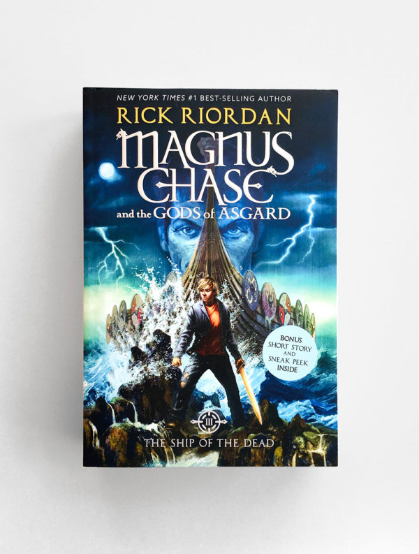 MAGNUS CHASE AND THE GODS OF ASGARD: THE SHIP OF THE DEAD (#3)