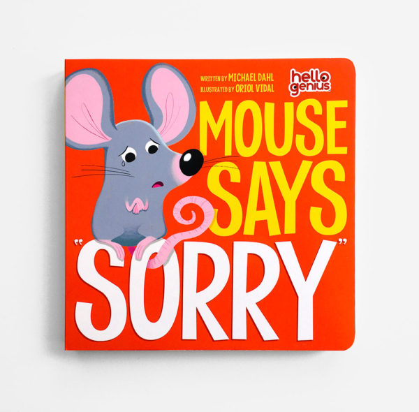 """MOUSE SAYS """"SORRY"""""""