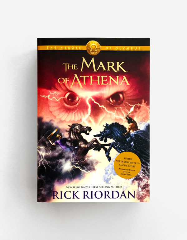 HEROES OF OLYMPUS: THE MARK OF ATHENA (#3)