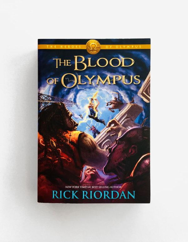 HEROES OF OLYMPUS: THE BLOOD OF OLYMPUS (#5)