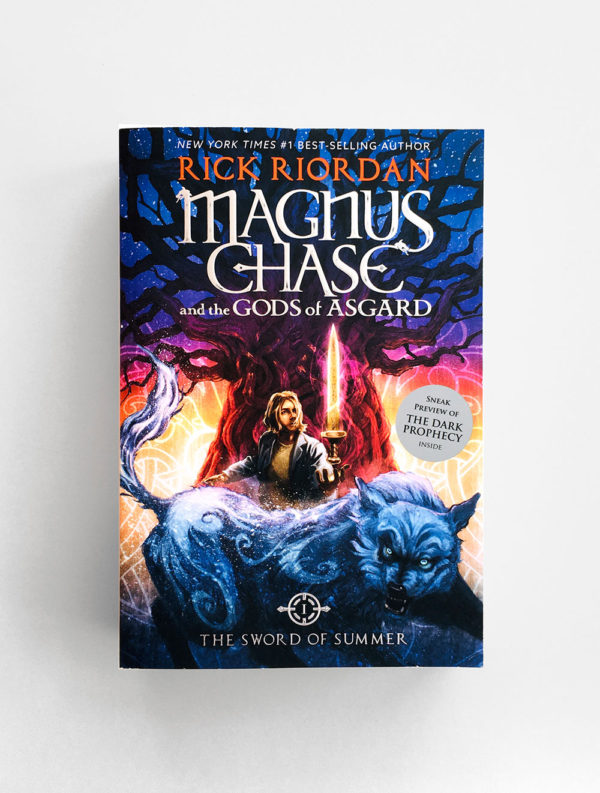 MAGNUS CHASE AND THE GODS OF ASGARD: THE SWORD OF SUMMER  (#1)