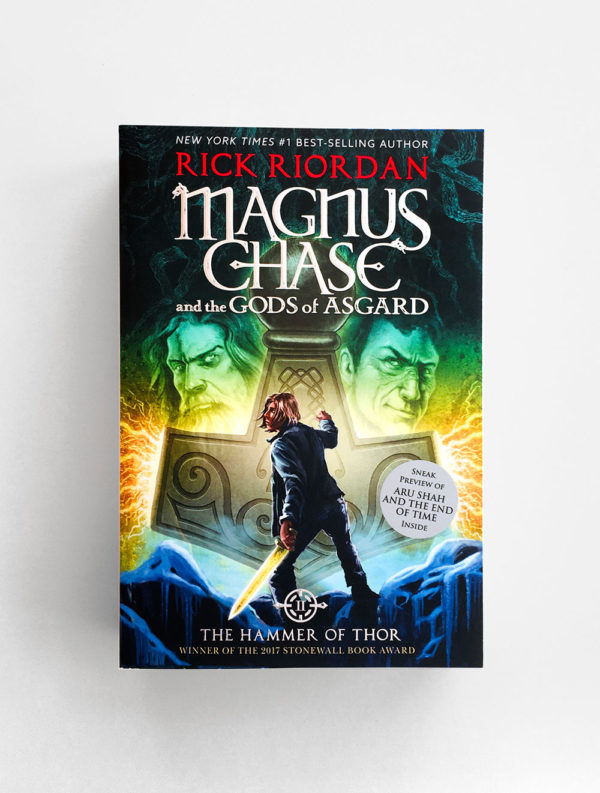 MAGNUS CHASE AND THE GODS OF ASGARD: THE HAMMER OF THOR (#2)