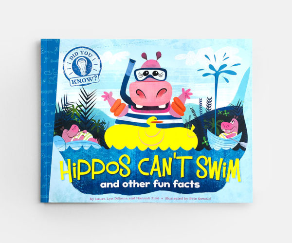 DID YOU KNOW? HIPPOS CAN'T SWIM AND OTHER FUN FACTS