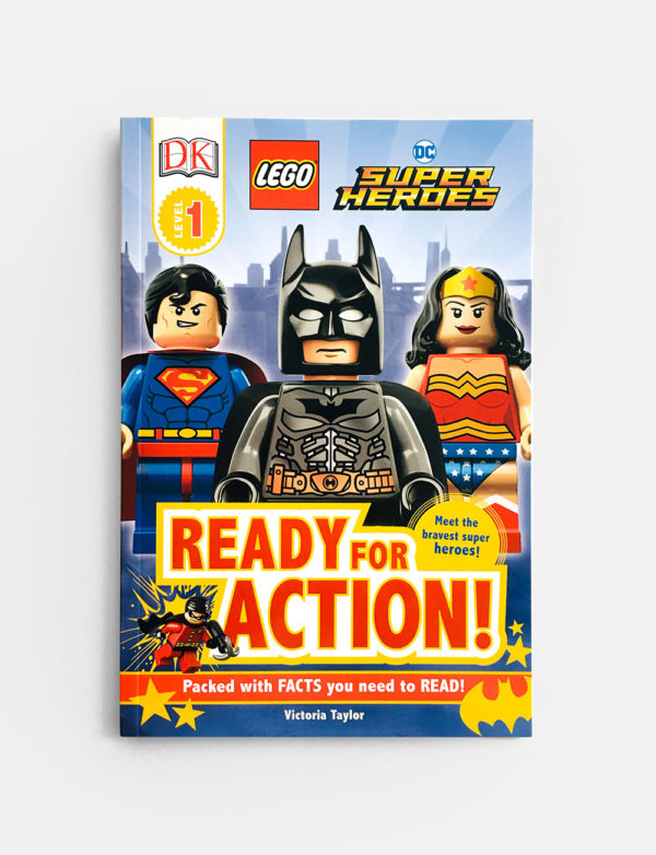 DK READERS #1: READY FOR ACTION!
