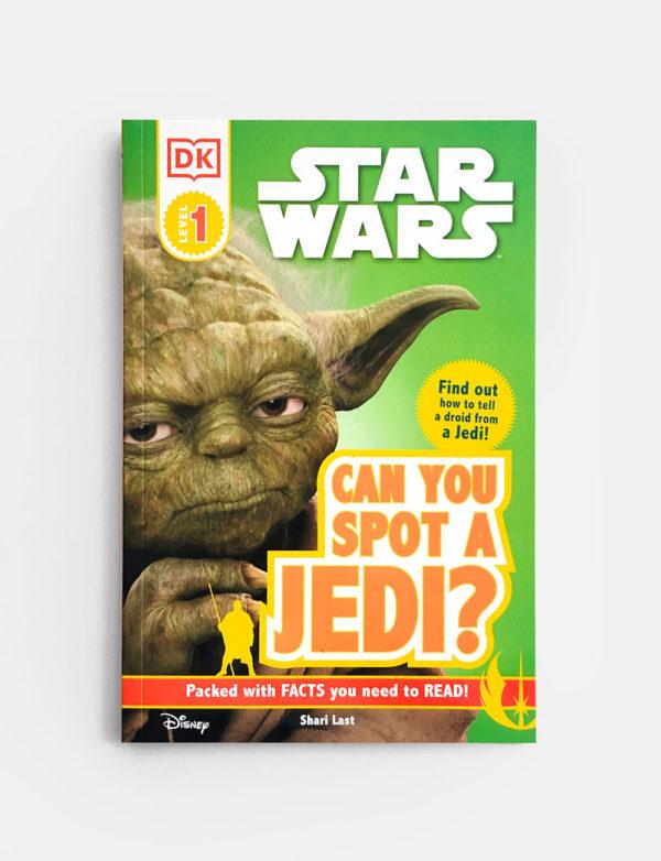 DK READERS #1: CAN YOU SPOT A JEDI?
