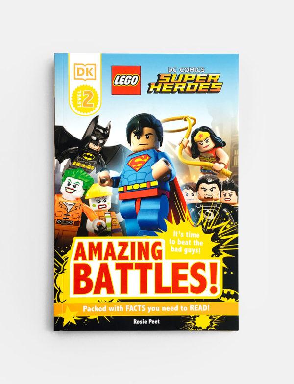 DK READERS #2: AMAZING BATTLES!