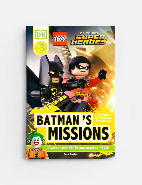 DK READERS #3: BATMAN'S MISSONS