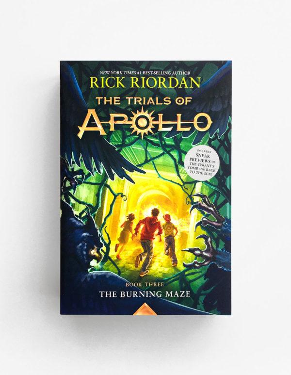 TRIALS OF APOLLO: BURNING MAZE (#3)