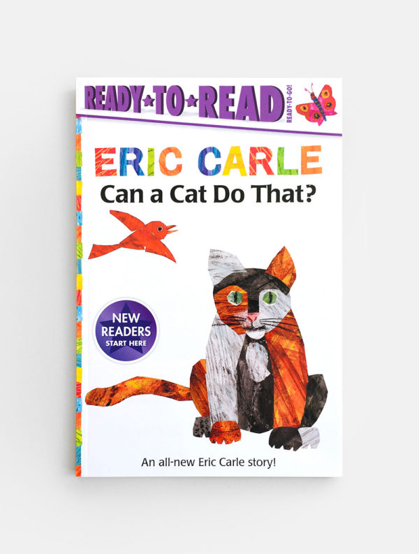 READY TO READ (READY TO GO!): CAN A CAT DO THAT - ERIC CARLE