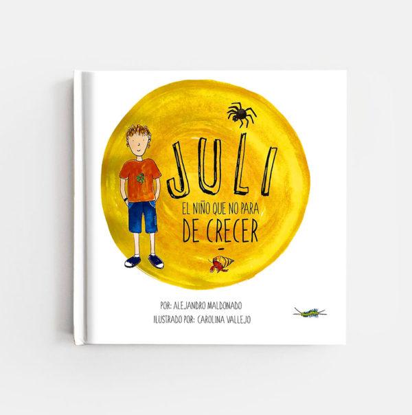 JULI, EL NIÑO QUE NO PARA DE CRECER